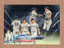 2018 Topps Series1 Black #286 New York Yankees Team Card 67/67