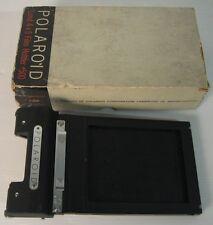 polaroid land 4x5vfilm holder , perfetto con scatola