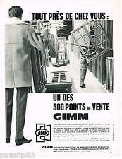 PUBLICITE ADVERTISING 055  1967  GIMM  portes & fenetres