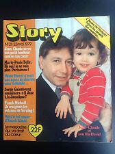Très Rare Revue magazine Story N° 21 1979 Louis de Funès JC Serre Gainsbourg TBE