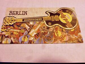 Vintage 1998 Hard Rock Cafe Berlin Merchandise Listing