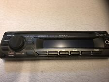 New listing Sony Cdx-Gt120 Faceplate Only