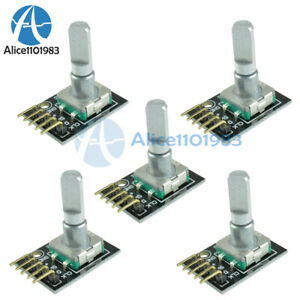 1-10PCS 5V Rotary Encoder Module Brick Sensor Development Board For Arduino DIY