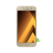 SAMSUNG Galaxy A3 SM-A320 16GB Smartphone Gold - 2017 Model