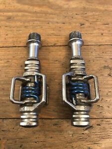 Crank Brothers Eggbeater SL Blue Clipless Mountain CX Bike Pedals