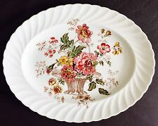 "Chelsea Rose Royal Staffordshire Dinnerware 11""/28cm Platter By Clarice Cliff"