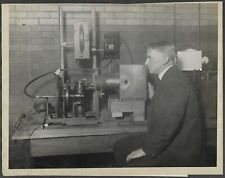 Manhattan Project Scientist W.D. Harkins Original 1923 Photo Splitting Atoms