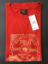NEW OLD STOCK VINTAGE RALPH LAUREN POLO PARIS TOKYO LONDON SAMPLE TSHIRT XL XXL
