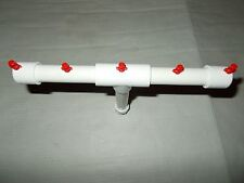 Aeroponic Hydroponic Garden Seed Start Cloning 5 Water Sprayer Manifold EZ Clone