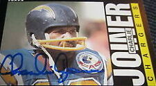 San Diego Chargers Not Authenticated Football Trading Cards