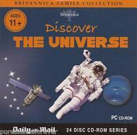BRITANNICA FAMILY COLLECTION: DISCOVER THE UNIVERSE (Daily Mail PC CD-ROM)