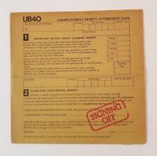 UB40 – Signing Off - 1980 - UB-1 - Italian Pressing - A/B Matrix - Vinyl LP