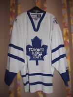 TORONTO MAPLE LEAFS CANADA ICE HOCKEY SHIRT JERSEY MAGLIA NHL CCM