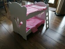Our generation doll bunk bed and 2 Dolls