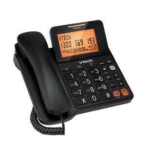 VTech T1200 corded telephone - BLACK