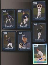 2006 Lot Of 7 Bowman Chrome Rookies - Fowler ++ & 1994 Fleer Sunoco/Atlantic Set