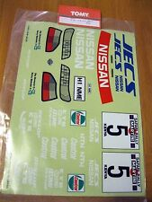 NISSAN GTI-R Vintage Original decal set 1/10th scale Tomy rare fit Tamiya
