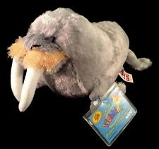 Grey Walrus Webkinz Signature Sealed Code Pet Plush Ganz 9 Inches Stuffed Toy