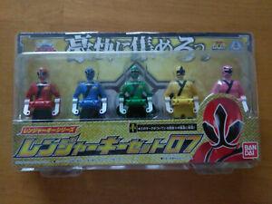 DX Samurai Sentai Shinkenger Ranger Key Set (US Seller)