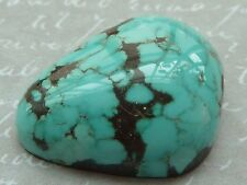 Natural Red Mountain Turquoise Cabochon, Old Stock, 17.5 carats