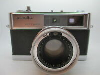 MINOLTA EASY FLASH HI MATIC 9 35mm Rangefinder Film Camera Meter Untested Japan
