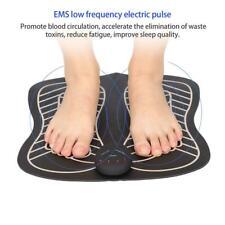 Electric EMS Intelligent Foot Massage Pad Feet Acupuncture Stimulator Massager