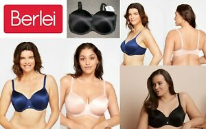 Berlei Full Busted Contour T-Shirt Bras Underwire 12 14 16 18 20 Cups D DD E F F