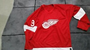 Detroit Red Wings Howe jersey. Throwback logo. Sewn logo and numbers. Unbranded