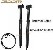 1*Bike Dropper Adjustable 100 Travel Seat Post Internal Routing 30.9/31.6*400mm
