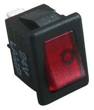 Universal Auto Illuminated 24VDC ON/OFF Mini Switch