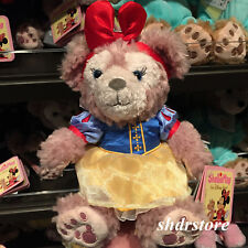 SHDR 9in Plush toy shelliemay Bear snow white Shanghai Disneyland Disney Park