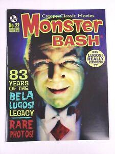 Monster Bash Magazine #22 Creepy Classic Movies 2014 Bella Lugosi Legacy
