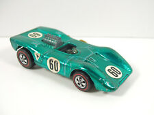 Hot Wheels REDLINE FERRARI 312P 1970 GREEN FADE > AQUA US, NICE