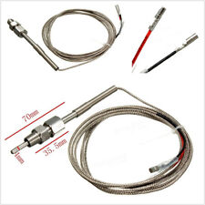 195.5cm Exhaust K-Type Gas Temperature Sensor EGT Probe For Autos SUV Vehicles