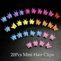 20pcs Butterfly Hair Clips Mini Hairpin for Kids Women Girls Cartoon Claw Clips√