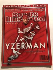 2006 Sports Illustrated Commemorative DETROIT Red Wings STEVE YZERMAN A Salute