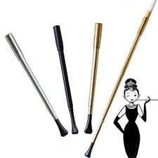 1 X Women's Long Series Retractable Vintage Cigarette Holder Smoking Slim Pipe