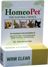 HomeoPet Wrm Clear 15ml *NEW*