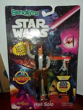 Bendems TOYS STAR WARS Han solo  figure 1992 carded bend ems