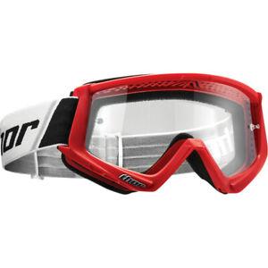 Thor Combat Motocross Goggle Red / Black
