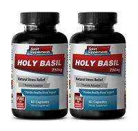 Make Your Skin Glow Supplements - Holy Basil Extract 745mg - Tulsi Tea 2B