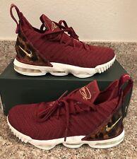 best service 5d13c 07a79 Nike LeBron 16 King AQ2465 601 Red Leopard GS Size 5 Women s Sz 6.5