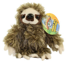 Adventure Planet Plush - BROWN SLOTH (6 inch) - New Stuffed Animal Toy