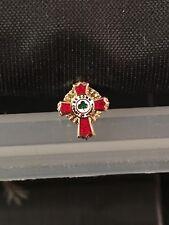Scottish Rite KCCH Small Red Cross Masonic Freemason Fraternity  NEW!
