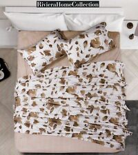 Set Sheets Cotton Riviera, WISH'S - Misty Floral. Single And Double