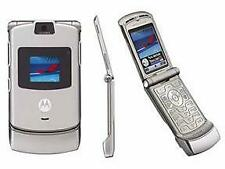 Motorola Razr V3 - Silver (T-Mobile) Cellular Phone