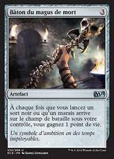 MTG Magic M15 - (4x) Staff of the Death Magus/Bâton du magus de mort, French/VF