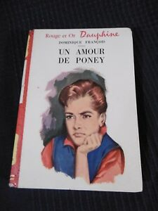 Book Bookshelf Red And Gold Dauphine One Amour De Pony Hachette