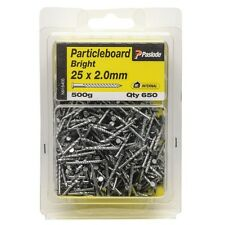 Paslode PARTICLEBOARD NAILS 25x2.0mm 650Pcs Bright Steel Helical Shank AUS Brand