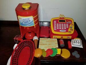 McDonalds CASH REGISTER Play Food RESTAURANT McFlurry Maker FRIES McDonalds' SET